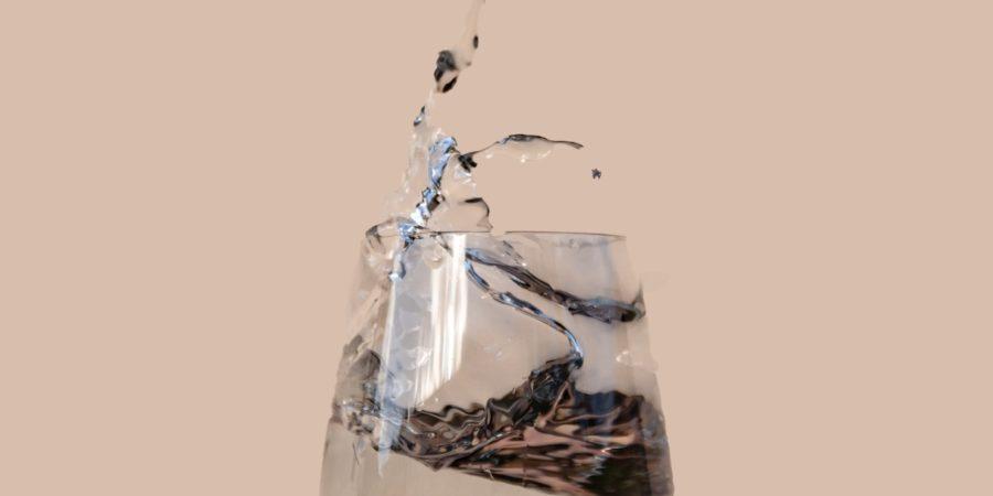 Das Glas ist halbvoll_Wasserglas_Cover